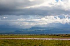 Parque nacional de Amboseli Fotografía de archivo