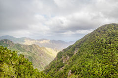 Parque nacional de Anaga Fotos de archivo libres de regalías