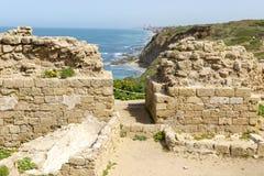 Parque nacional de Apollonia imagenes de archivo