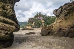 Parque nacional de Bako, Borneo Imagenes de archivo
