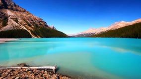 Parque nacional de Banff do lago Peyto filme