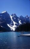 Parque nacional de Banff en Canadá Foto de archivo