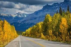 Parque nacional de Banff en el otoño Imagenes de archivo