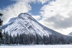 Parque nacional de Banff no inverno Imagem de Stock Royalty Free
