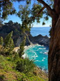 Parque nacional de Big Sur Imagem de Stock Royalty Free
