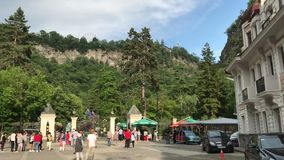 Parque nacional de Borjomi Geórgia filme