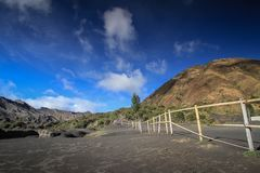 Parque nacional de Bromo Foto de Stock