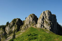 Parque nacional de Buila - de Vanturarita Imagens de Stock