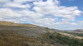 Parque nacional de Burren, Irlanda metrajes