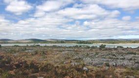 Parque nacional de Burren, Irlanda almacen de video