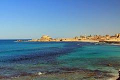 Parque nacional de Caesarea Maritima Fotografia de Stock Royalty Free