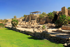 Parque nacional de Caesarea Maritima Imagenes de archivo