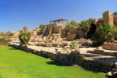 Parque nacional de Caesarea Maritima Imagens de Stock