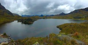 Parque nacional de Cajas Imagem de Stock Royalty Free