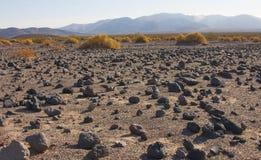 Parque nacional de California, Death Valley, el desierto de piedra Imágenes de archivo libres de regalías