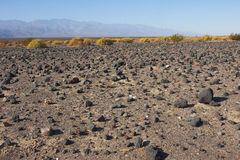 Parque nacional de California, Death Valley, el desierto de piedra Foto de archivo libre de regalías