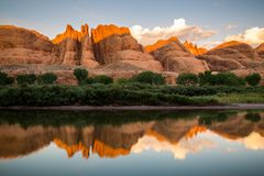 Parque nacional de Canyonlands imagens de stock royalty free