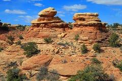 Parque nacional de Canyonlands Imagenes de archivo
