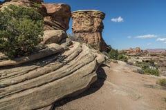 Parque nacional de Canyonlands fotos de stock royalty free