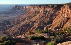 Parque nacional de Canyonlands - as agulhas negligenciam Imagens de Stock Royalty Free