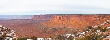 Parque nacional de Canyonlands en invierno Imagenes de archivo