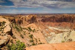 Parque nacional de Canyonlands, Utá foto de stock royalty free