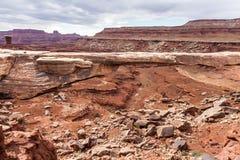Parque nacional de Canyonlands, Utá, EUA foto de stock