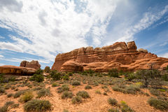 Parque nacional de Canyonlands, Utah, los E Fotografía de archivo
