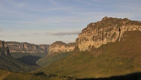 Parque nacional de Chapada Diamantina - el Brasil Foto de archivo libre de regalías