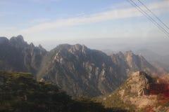 Parque nacional de China Huangshan Foto de archivo