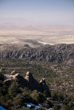 Parque nacional de Chirikahua en los E.E.U.U. Imagenes de archivo