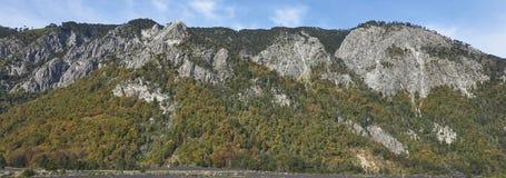 Parque nacional de Conguillio no Chile do sul imagem de stock royalty free