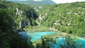 Parque nacional de Croacia, lagos Plitvice (2011) [3] Imágenes de archivo libres de regalías