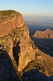 Parque nacional de curvatura grande das montanhas de Chisos, Texas Fotos de Stock