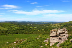 Parque nacional de Dartmoor Foto de Stock Royalty Free