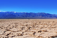 Parque nacional de Death Valley Fotos de archivo