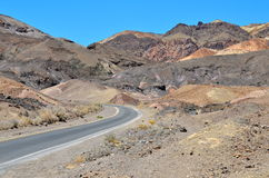 Parque nacional de Death Valley, Califórnia Imagens de Stock