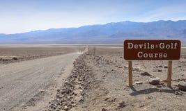 Parque nacional de Death Valley, California, los E Foto de archivo libre de regalías