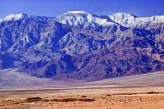 Parque nacional de Death Valley de las montañas de Panamint Imagenes de archivo