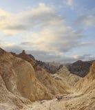 Parque nacional de Death Valley del barranco de oro Foto de archivo