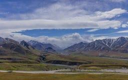 Parque nacional de Denali, Alaska E Fotos de Stock