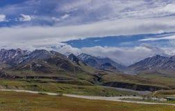 Parque nacional de Denali, Alaska E Foto de Stock Royalty Free
