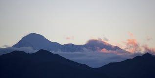 Parque nacional de Denali, Alaska los E imagenes de archivo