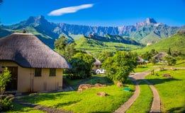 Parque nacional de Drakensberg Foto de Stock