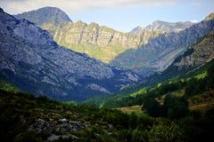 Parque nacional de Durmitor en Montenegro Fotografía de archivo