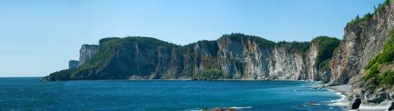 Parque nacional de Forillion, Quebec Fotos de archivo libres de regalías
