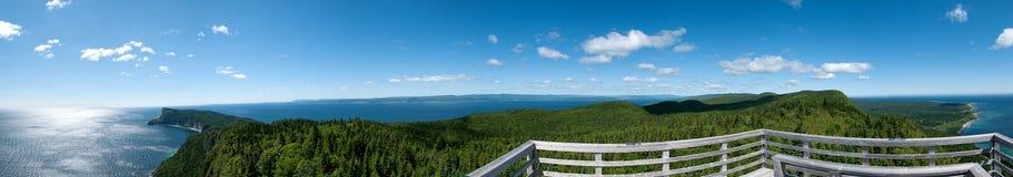 Parque nacional de Forillion, Quebec fotografía de archivo