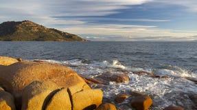Parque nacional de Freycinet, TAS Austrália Fotografia de Stock