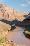 Parque nacional de garganta grande nos EUA fotografia de stock