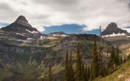 Parque nacional de geleira foto de stock royalty free
